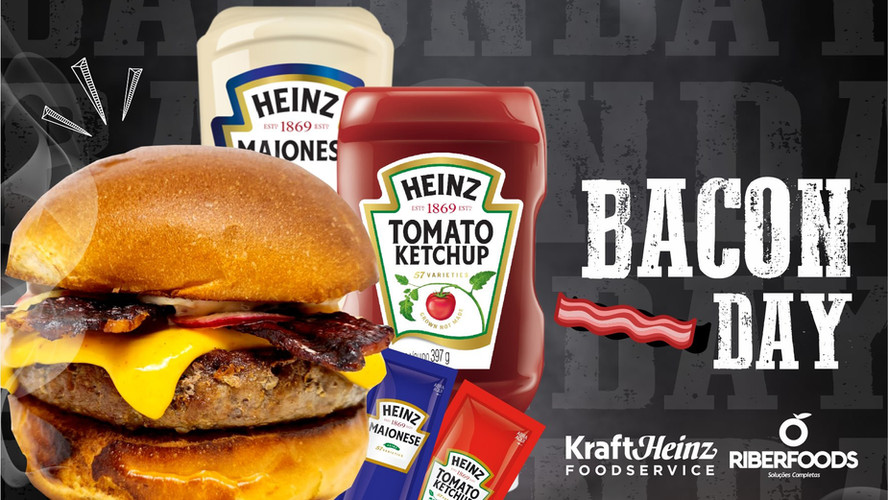 Receita Especial para o dia do Bacon com a Heinz!!