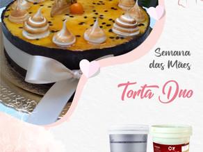 Especial dia das Mães: Torta Duo por Aromitália