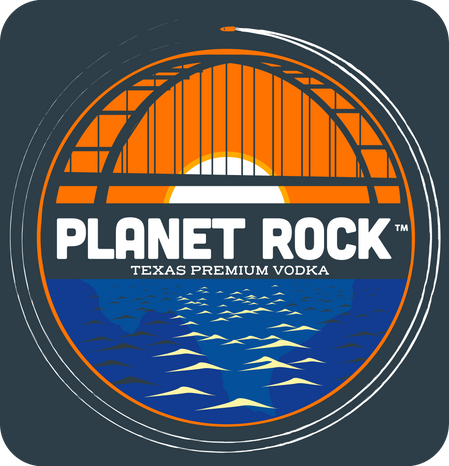 Planet Rock Vodka logo