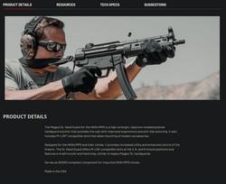MP5 handguard product description