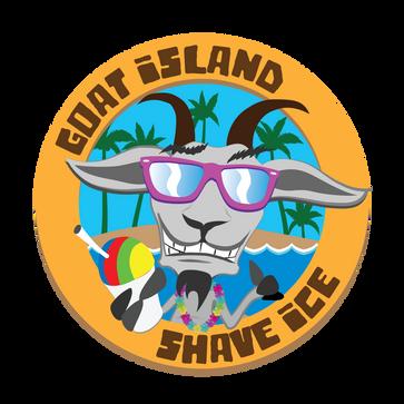 Goat Island Shave Ice logo