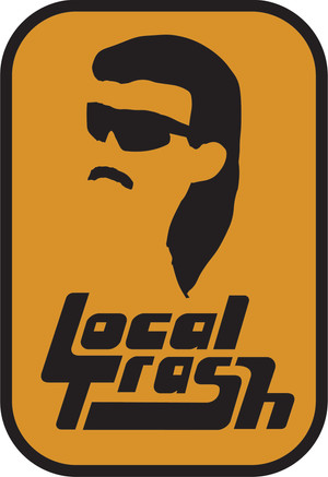 Local Trash softball team logo