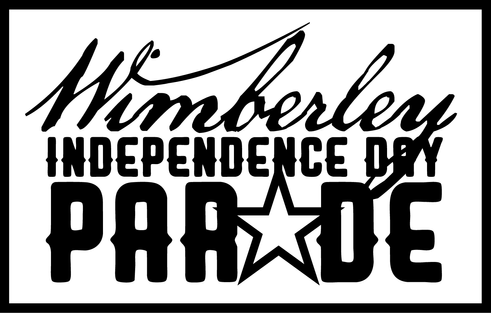 Wimberley Independence Day parade logo