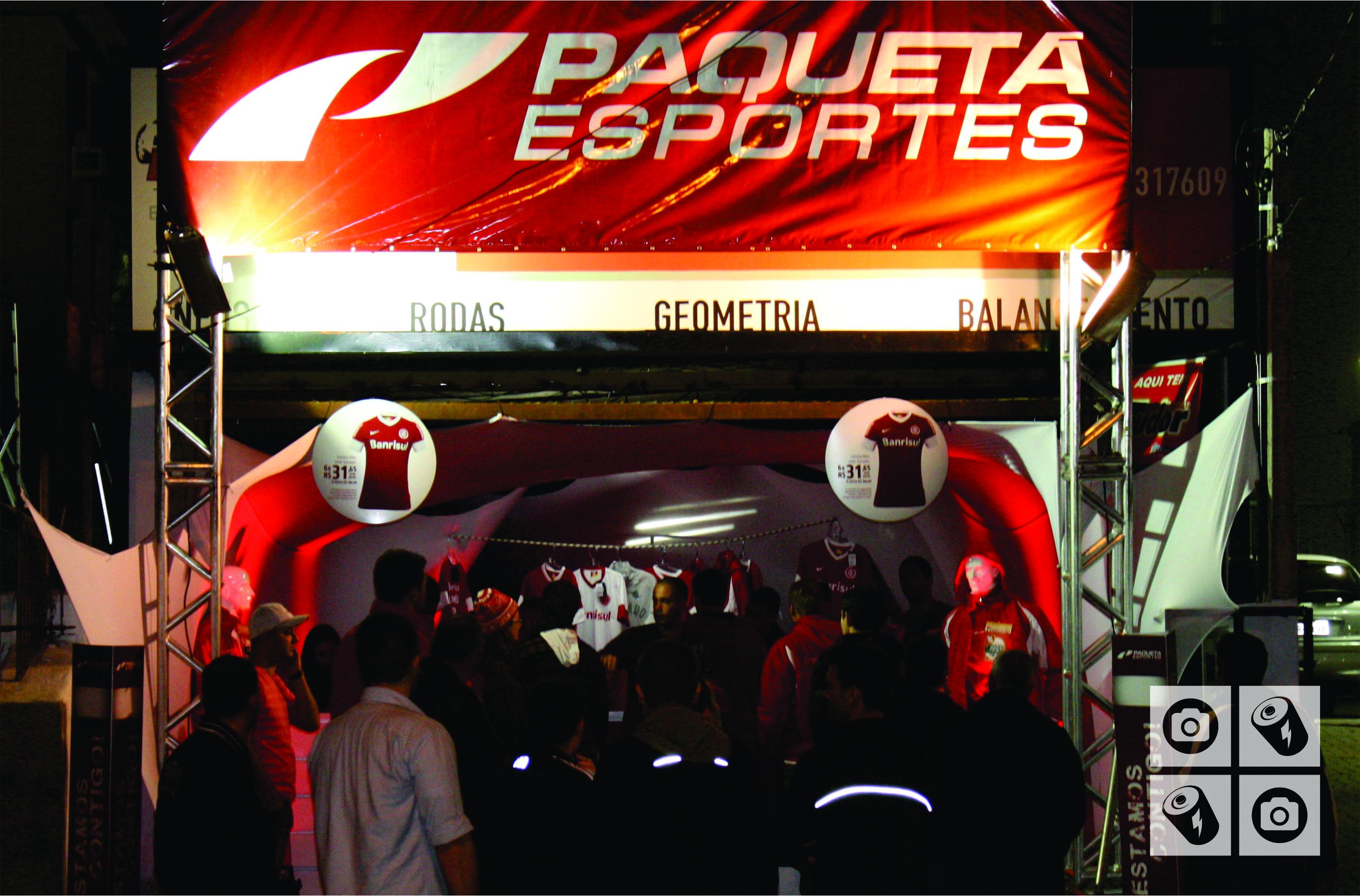 POP-UP STORE | PAQUETÁ ESPORTES