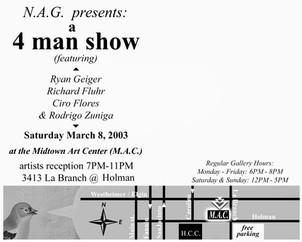 Nag Presents - A 4 Men Show