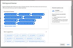 Keyword Targeting Smart Google Ads Campaign