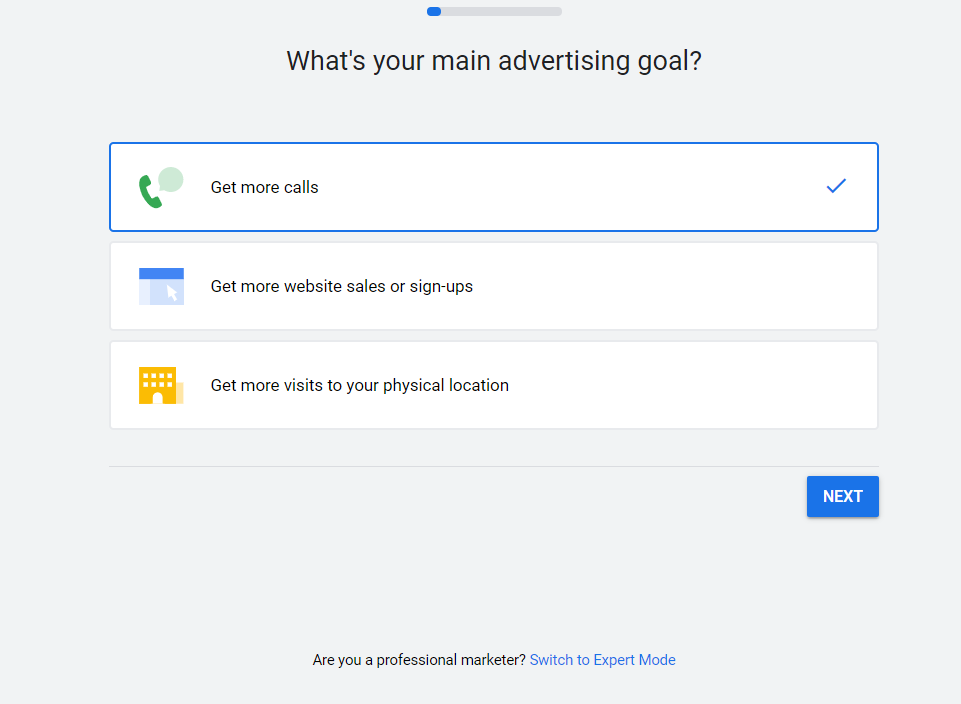 Google Ads Screenshot