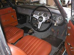 Alfa Romeo Sprint GT Interior