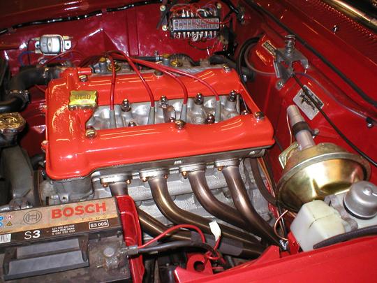 Alfa Romeo Sprint GTV Engine Bay