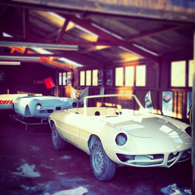 750 and 105 series Alfa Romeo Spider