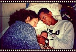 Birth of son Luan