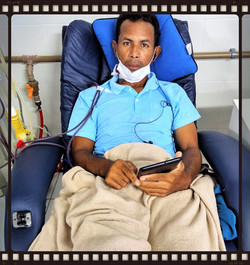 Neu having Hemodialysis