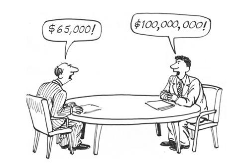 Salary Negotiations Gone Wrong