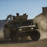 Military Humvee, military electronics, defense manufacturing