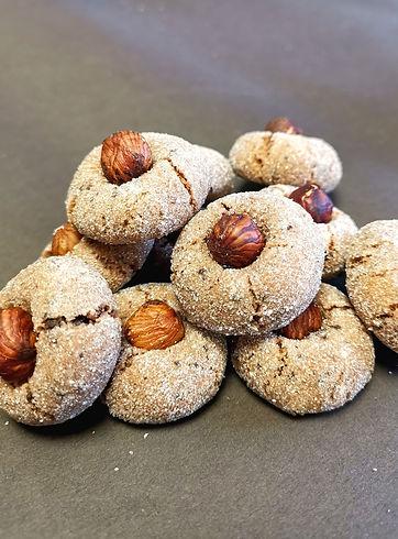 macarons chocolat noisettes amandes et c
