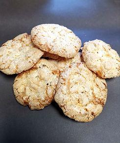 croustillants amandes et caramel biscuit