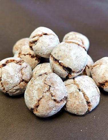 macarons chocolats amandes et carael bis