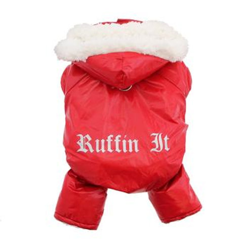 Red Snowsuit Harness