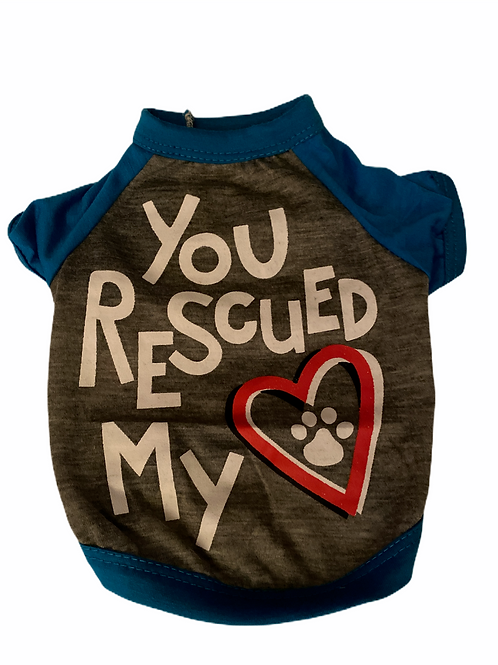 You Rescued My Heart- Blue