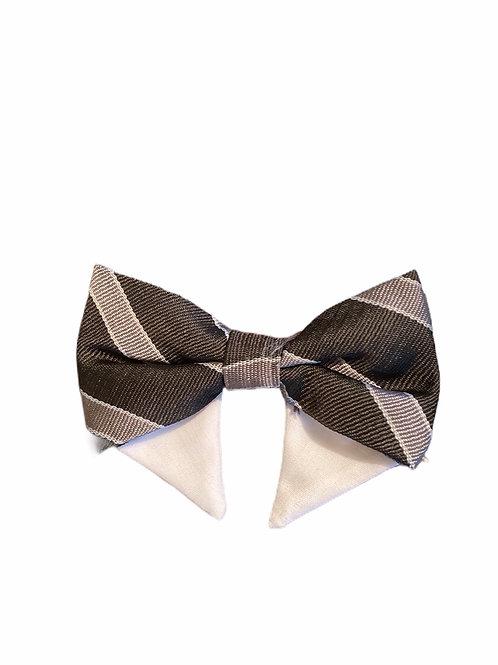 Black/Gray Bow Tie