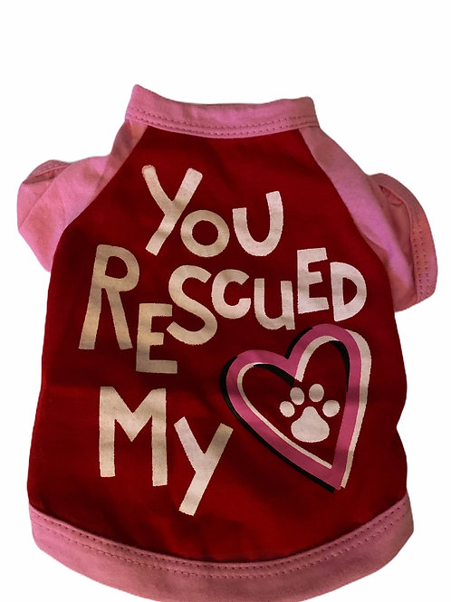 You Rescued My Heart- Pink
