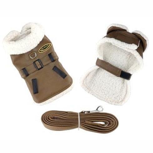 Pet Harness Coat w/Leash