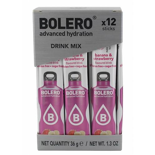 Bolero 0.5 l Банан клубника - 12 шт
