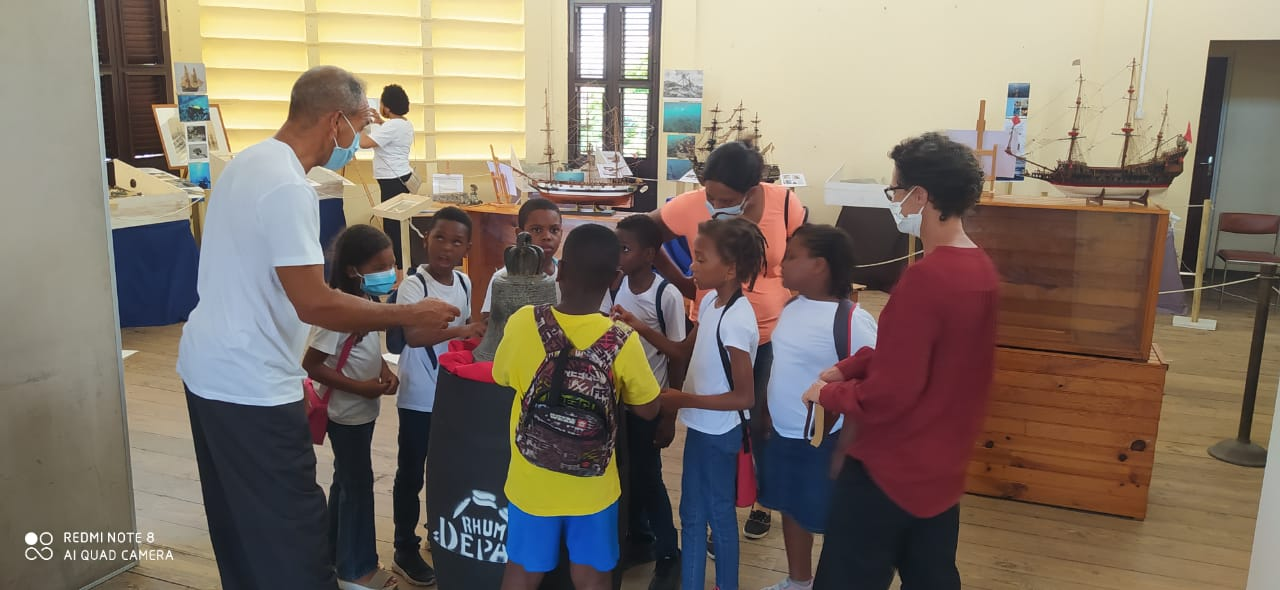 Visite guidée école primaire de Saint Pi