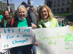 Barbara Boockmeier and Cindy Shepherd at the Statehouse