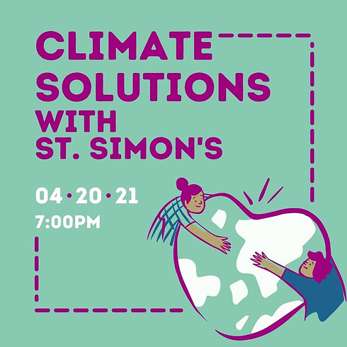 Climate Solutions with St. Simon's Episcopal Church