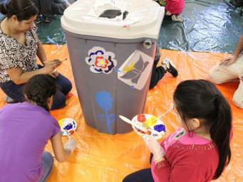 Our Lady of the Snows Parish Hosts Barrel Painting Day