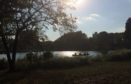 Attendees canoed with Wilderness Inquiry