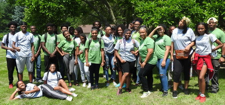 Eco-Ambassadors from Chicago and Markham, Summer 2018