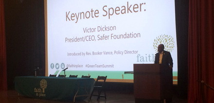 Victor Dickson gives the Keynote Address