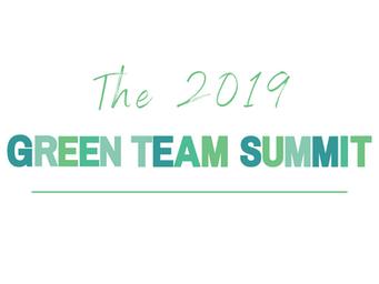Celebrating the 2019 Green Team Summit