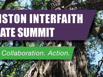 Interfaith Climate Summit in April