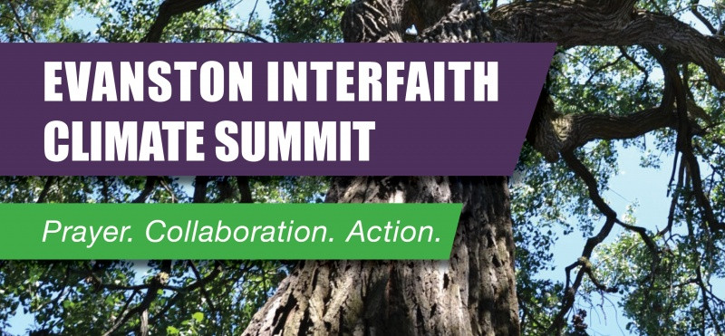 Header Image for Evanston Interfaith Climate Summit, 2019