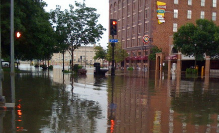Flooding in Des Moines