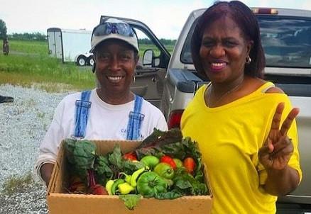 An Abundant Harvest from Mother Carr's CSA Farm at Vernon Park Church of God