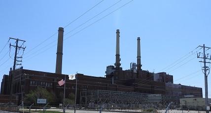 Coal Plant in Waukegan, Illinois