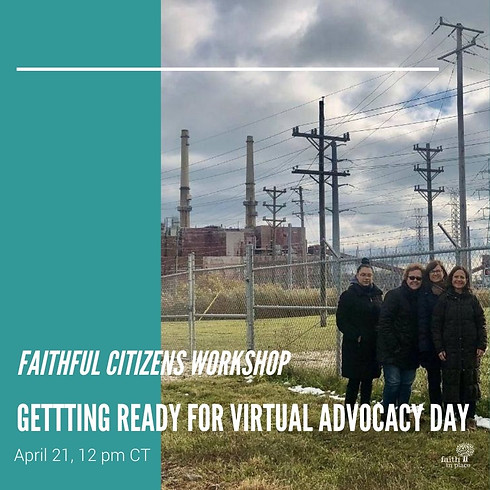 Faithful Citizens Workshop: Getting Ready for Virtual Advocacy Day
