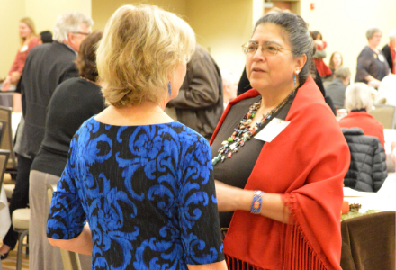 Rev. Danira Parra's Land Acknowledgement at the 2019 Central Illinois Annual Celebration & Fundraiser