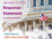 U.S. Capitol Riot Response Statement