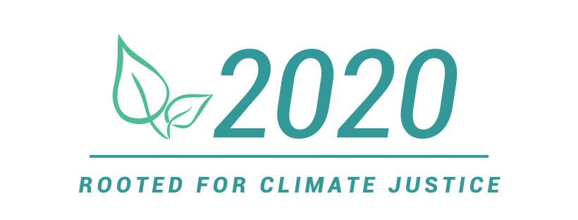 "Faith in Place's Theme for 2020 is ""Rooted for Climate Justice""."