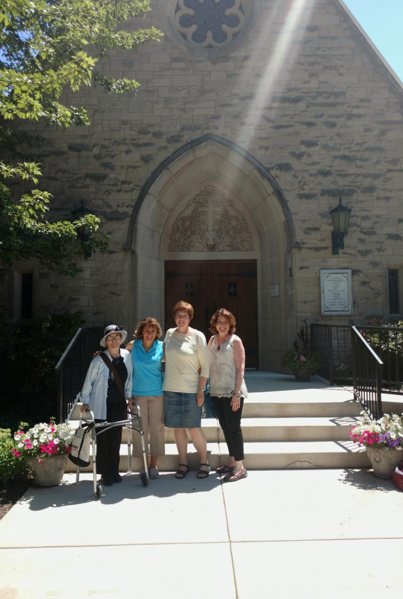 Members of the Green Team at St. Mark's Episcopal Church