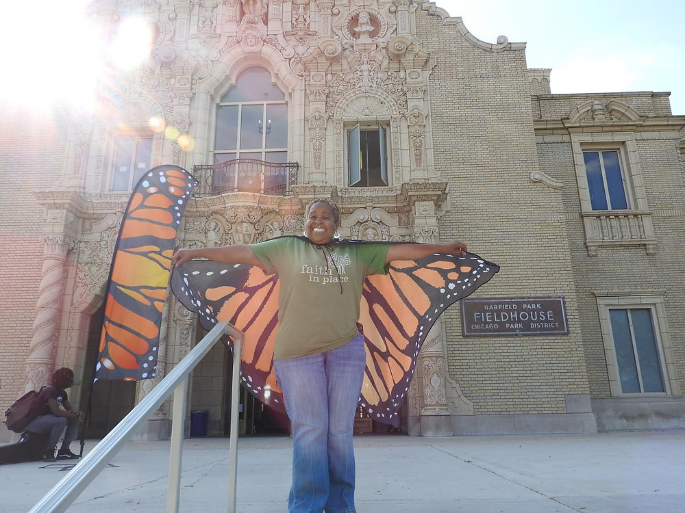 Faith in Place hosted the first Monarch Fest in Garfield Park!
