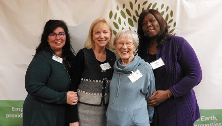 Green Team Members from St. Simon's Episcopal Church in Arlington Heights attend the 2018 Annual Celebration & Fundraiser.