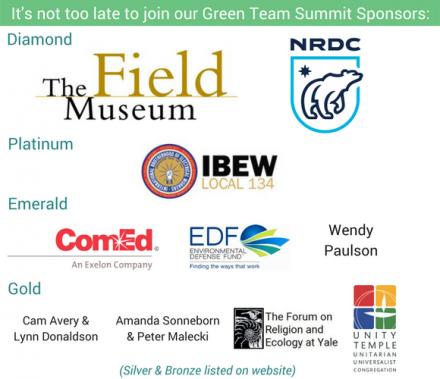 Green Team Summit 2017 Sponsor Logos
