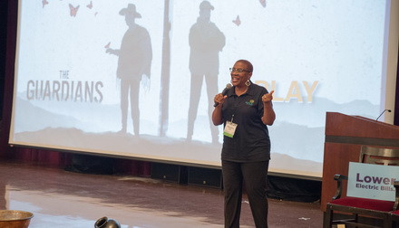 Chicago Outreach Director, Veronica Kyle, introduces the film