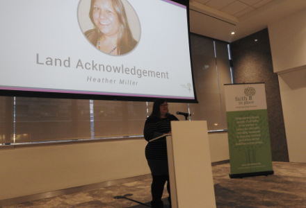 Heather Miller's Land Acknowledgement at the 2019 Chicago Annual Celebration & Fundraiser